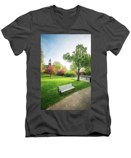 Rotary Park - Busiel Mill  Men's V-Neck T-Shirt