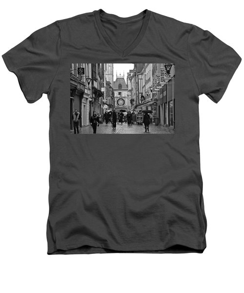Rouen Street Men's V-Neck T-Shirt
