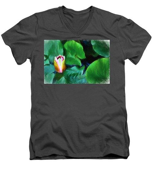 Rough Water Men's V-Neck T-Shirt