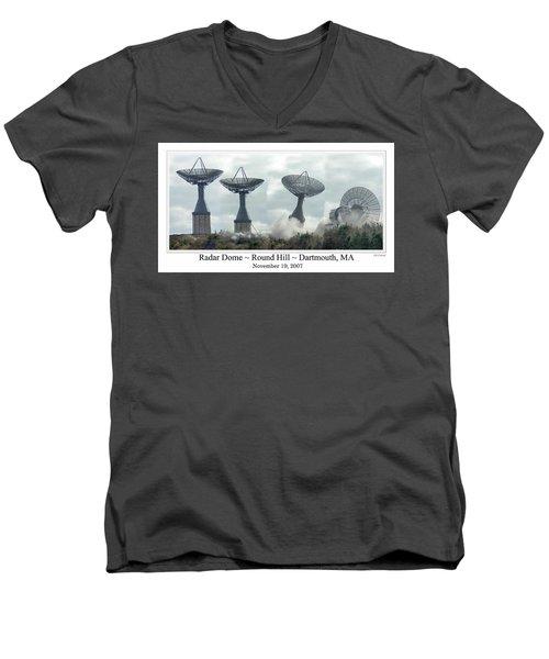 Round Hill Radar Demolition Men's V-Neck T-Shirt