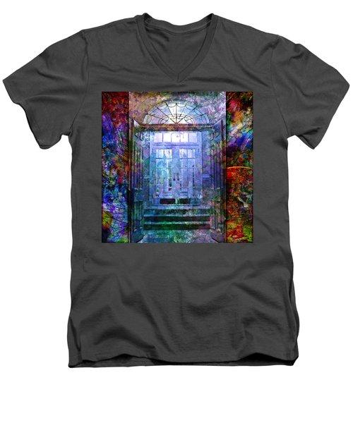 Rounded Doors Men's V-Neck T-Shirt