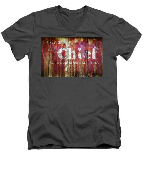 Route Of The Chief Men's V-Neck T-Shirt