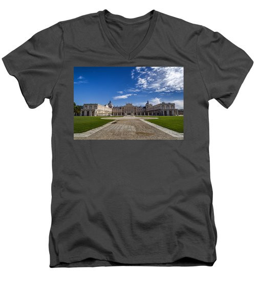 Royal Palace Of Aranjuez Men's V-Neck T-Shirt