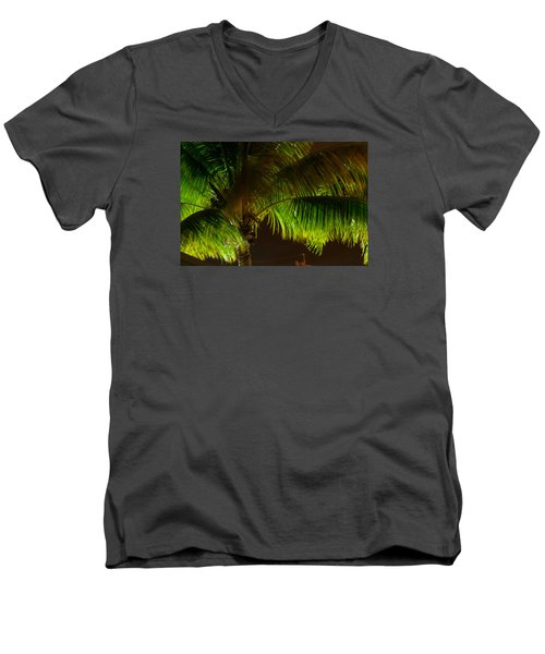 Royal Palm Night Out Men's V-Neck T-Shirt