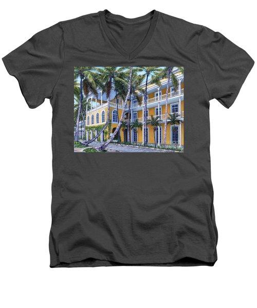 Royal Victoria Men's V-Neck T-Shirt