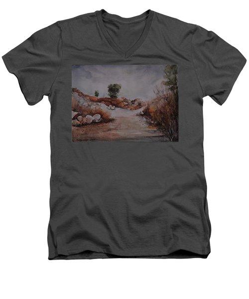 Rubbles Men's V-Neck T-Shirt