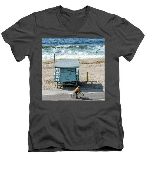 Ruby Men's V-Neck T-Shirt