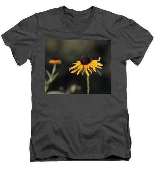 Rudbeckia Hirta Men's V-Neck T-Shirt