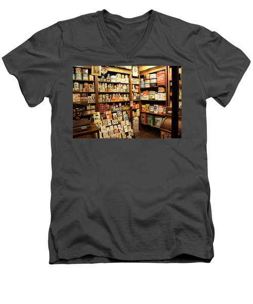 Ruddy's 1930 General Store Men's V-Neck T-Shirt