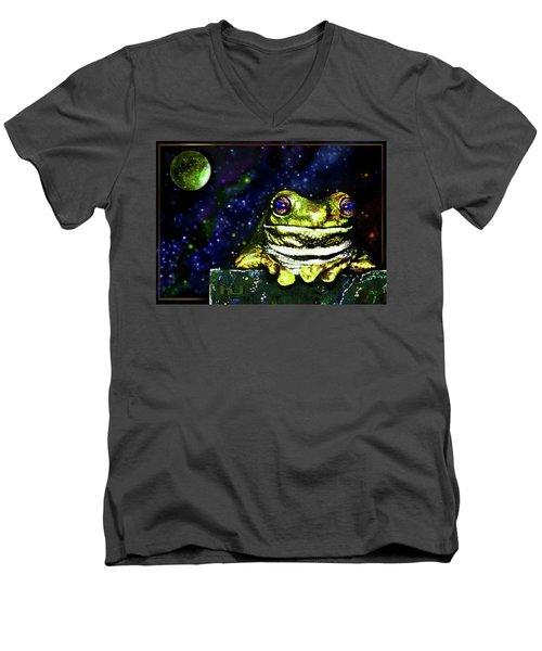 Ruler Of The Cosmos  Men's V-Neck T-Shirt