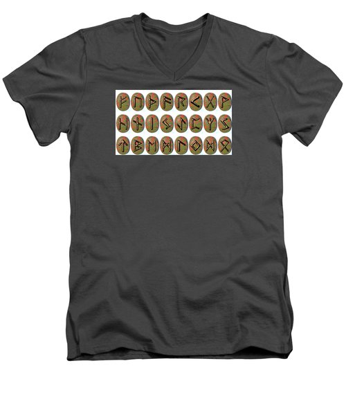 Rune Set Men's V-Neck T-Shirt