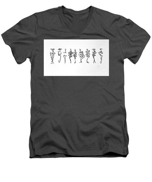 Runway Rl Men's V-Neck T-Shirt