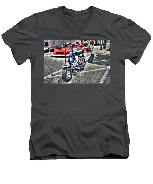 Rupp Men's V-Neck T-Shirt by Josh Williams
