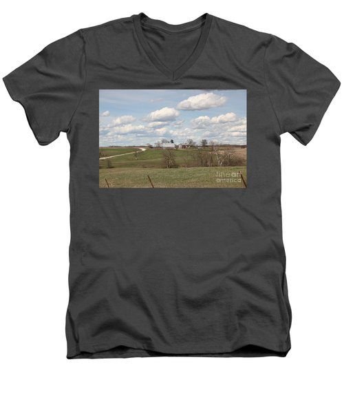 Rural Randolph County Men's V-Neck T-Shirt