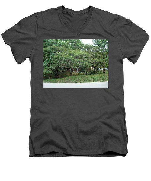 Rural Scenery 2 Men's V-Neck T-Shirt