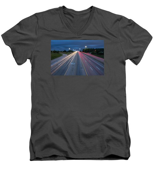Rush Hour  Men's V-Neck T-Shirt