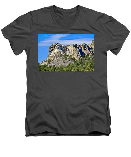 Rushmore Men's V-Neck T-Shirt