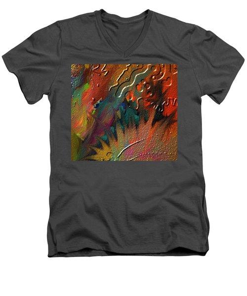 Rust Never Sleeps Men's V-Neck T-Shirt by Kevin Caudill