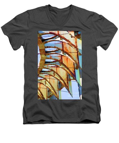 Rust Pavilion World's Fair 1964 Ny Men's V-Neck T-Shirt