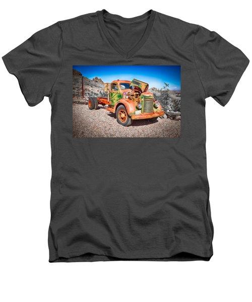 Rusted Classics - The International Men's V-Neck T-Shirt