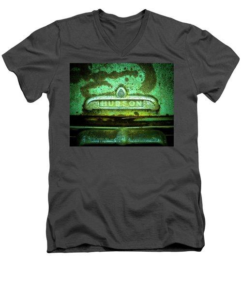 Rusted Hudson Men's V-Neck T-Shirt