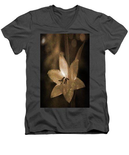 Rustic Bloom Men's V-Neck T-Shirt