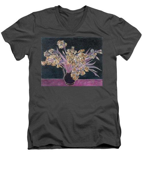 Rustic II Van Gogh Men's V-Neck T-Shirt