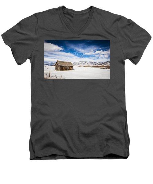 Rustic Shack Men's V-Neck T-Shirt