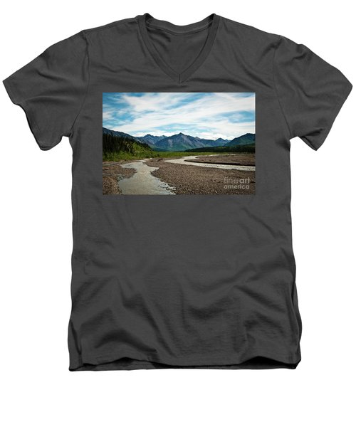 Rustic Water Men's V-Neck T-Shirt