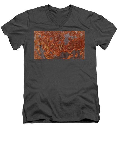 Rusty No. 1-2 Men's V-Neck T-Shirt