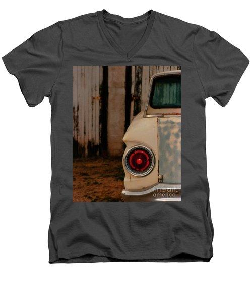 Rusty Car Men's V-Neck T-Shirt by Heather Kirk