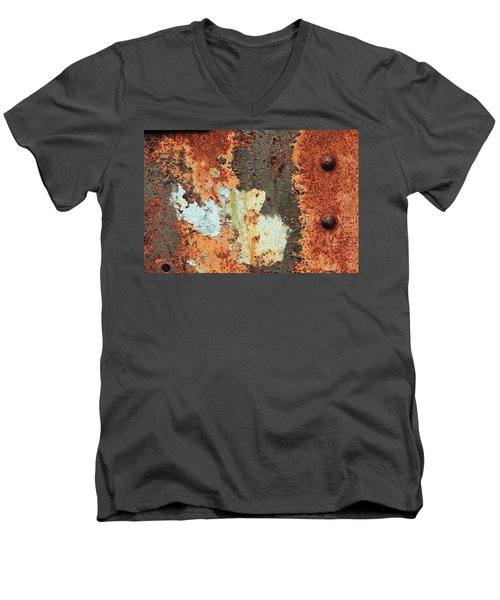 Rusty Layers Men's V-Neck T-Shirt