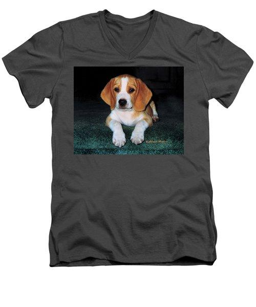 Rusty Puppy Men's V-Neck T-Shirt