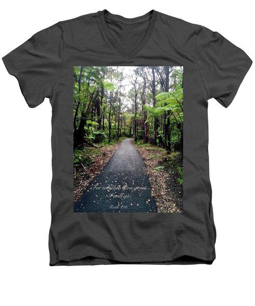 Ruth Men's V-Neck T-Shirt