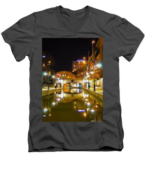 Rva Canal Walk Men's V-Neck T-Shirt