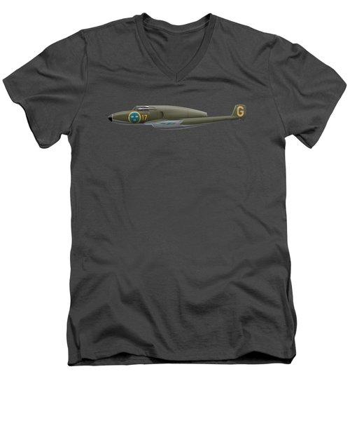 Saab A 21 R - 21455 Men's V-Neck T-Shirt