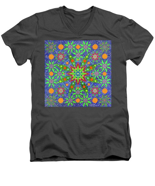 Sabiduria De Las Plantas Men's V-Neck T-Shirt