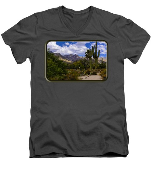 Sabino Canyon No4 Men's V-Neck T-Shirt
