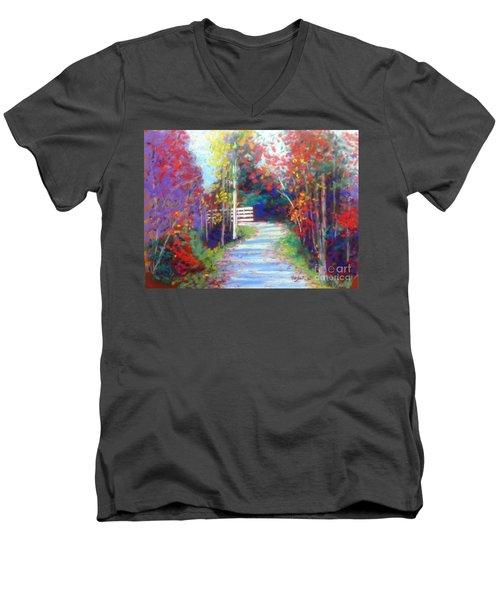 Sackville Walking Trail Men's V-Neck T-Shirt by Rae  Smith