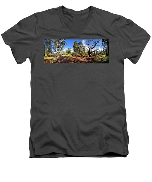 Sacred Canyon, Flinders Ranges Men's V-Neck T-Shirt