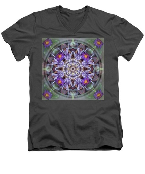 Sacred Emergence Men's V-Neck T-Shirt