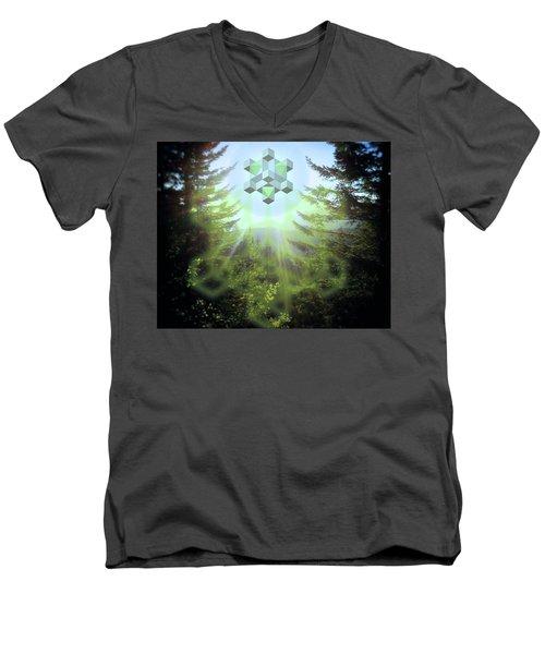 Sacred Forest Event Men's V-Neck T-Shirt