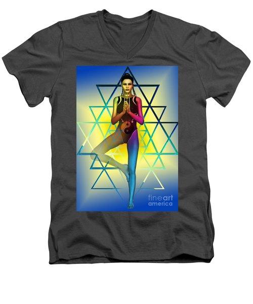 Sacred Geometry 2 Men's V-Neck T-Shirt