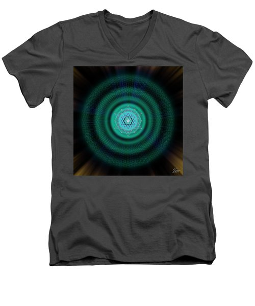Sacred Geometry 651 Men's V-Neck T-Shirt