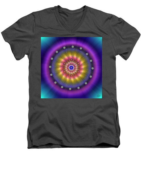 Sacred Geometry 659 Men's V-Neck T-Shirt