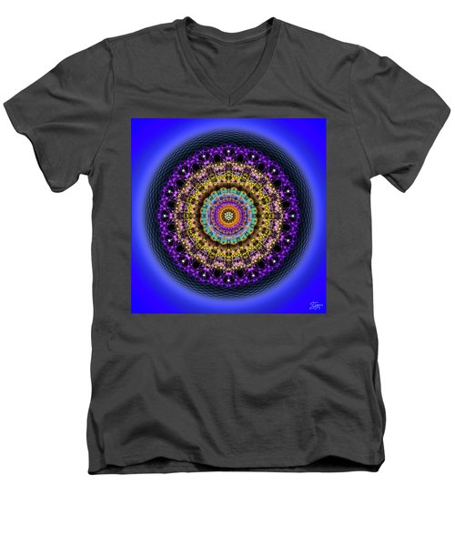 Sacred Geometry 708 Men's V-Neck T-Shirt