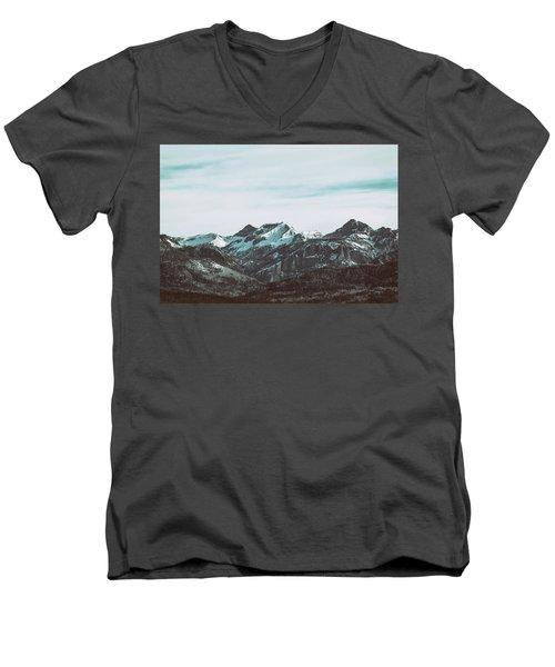 Saddle Mountain Morning Men's V-Neck T-Shirt