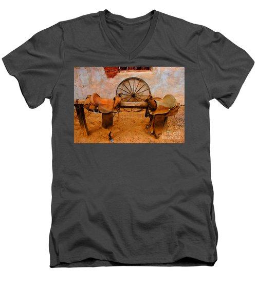 Saddle Town Men's V-Neck T-Shirt