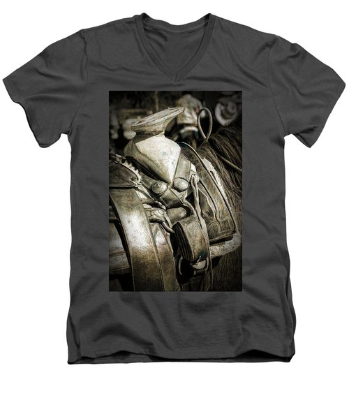 Saddle Up Men's V-Neck T-Shirt