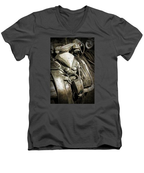 Saddle Up Men's V-Neck T-Shirt